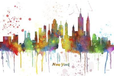 New York New York Skyline MCLR 1