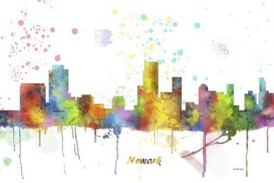 Newark New Jersey Skyline MCLR 1 by Marlene Watson