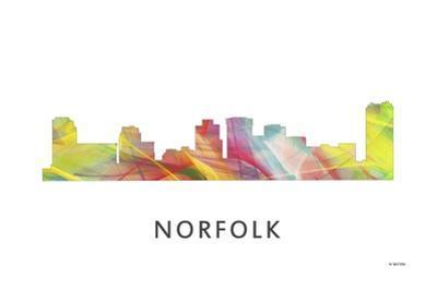 Norfolk Virginia Skyline by Marlene Watson