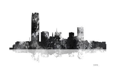 Oklahoma City Oklahoma Skyline BG 1 by Marlene Watson