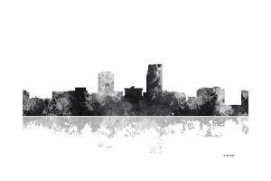 Omaha Nebraska Skyline BG 1 by Marlene Watson