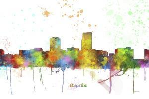 Omaha Nebraska Skyline MCLR 1 by Marlene Watson