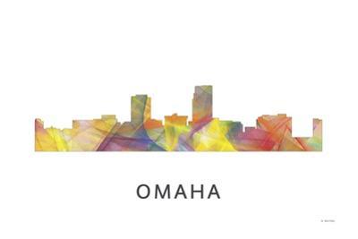 Omaha Nebraska Skyline by Marlene Watson