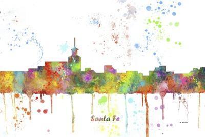 Santa Fe New Mexico Skyline MCLR 1 by Marlene Watson
