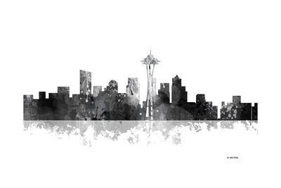 Seattle Washington Skyline BG 1