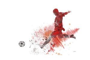 Soccer Player 01 by Marlene Watson