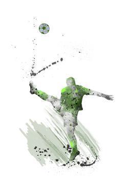 Soccer Player 03 by Marlene Watson