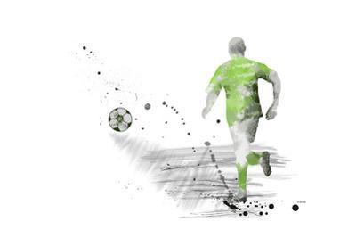 Soccer Player 05 by Marlene Watson