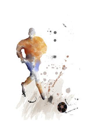 Soccer Player 07 by Marlene Watson