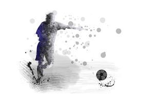 Soccer Player 10 by Marlene Watson