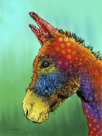 Spotted Donkey 1 by Marlene Watson