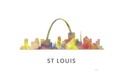 St Louis Missouri Skyline by Marlene Watson