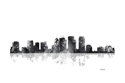 Tampa Florida Skyline BG 1 by Marlene Watson