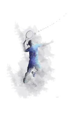 Tennis Player 1 by Marlene Watson
