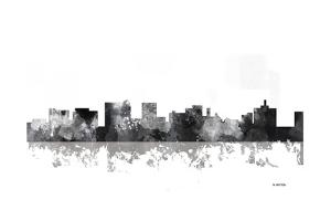Topeka Kansas Skyline BG 1 by Marlene Watson