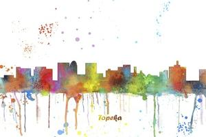 Topeka Kansas Skyline MCLR 1 by Marlene Watson