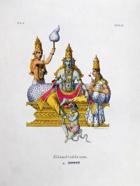 Ramavataram, 1828 by Marlet et Cie