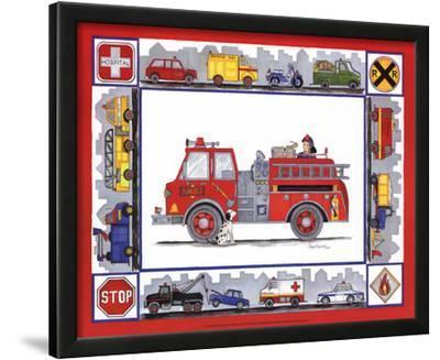 Rescue Trucks by Marnie Bishop Elmer