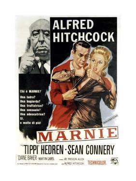 Marnie, Director Alfred Hitchcock, Sean Connery, Tippi Hedren, 1964