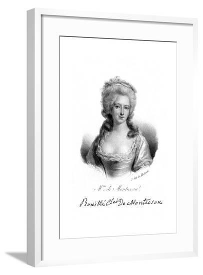 Marquise de Montesson--Framed Giclee Print