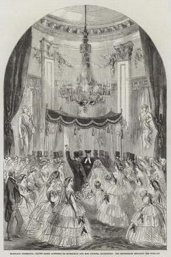 Marriage Ceremonial of the Baron Alphonse De Rothschild and Miss Leonora Rothschild