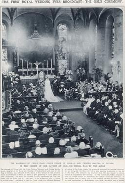Marriage of Prince Olaf of Norway and Princess Martha of Sweden