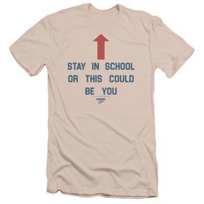 Married With Children- Stay In School Slim Fit