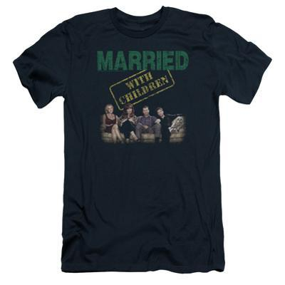 Married With Children- Vintage Bundy Couch Time Slim Fit