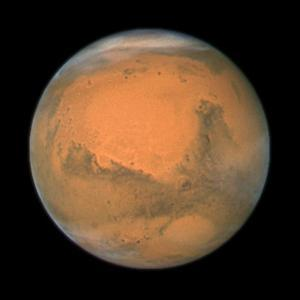 Mars Close Approach 2007, HST Image