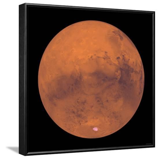Mars-Stocktrek Images-Framed Photographic Print