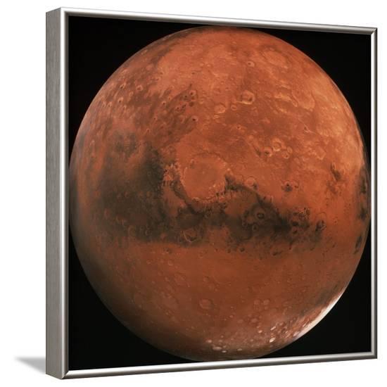 Mars--Framed Photographic Print
