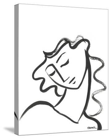 Linear Portrait - Contemplation