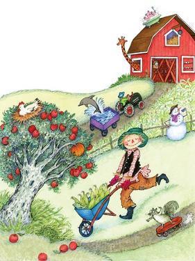 Farm Funnies - Humpty Dumpty by Marsha Winborn