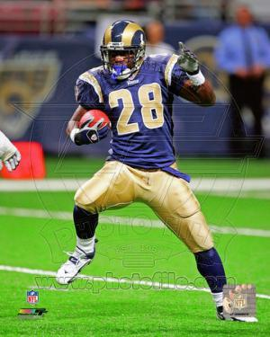 Marshall Faulk 2005 Action