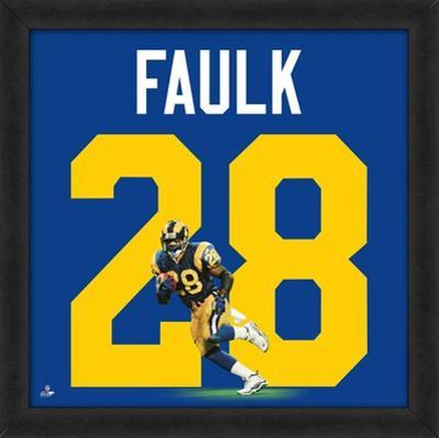 Marshall Faulk, Rams Retro representation of the player's jersey