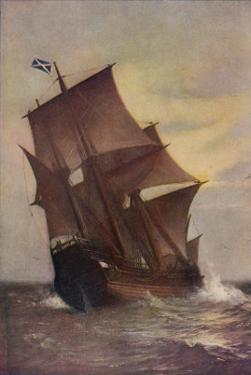 The Mayflower by Marshall Johnson