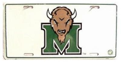 Marshall University License Plate