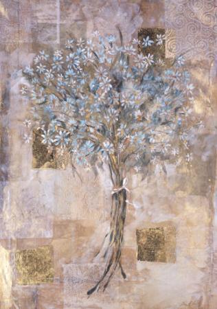 Blue Flowers by Marta Gottfried
