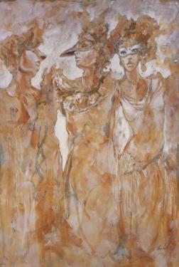 Masked Dance by Marta Gottfried
