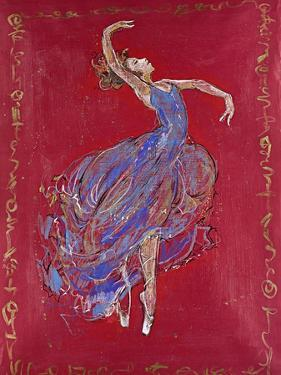 Dancer in Blue I by Marta Wiley