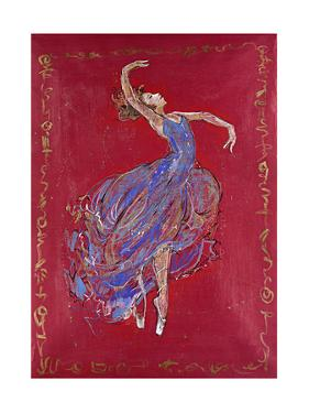 Dancer in Blue I by Marta Wiley