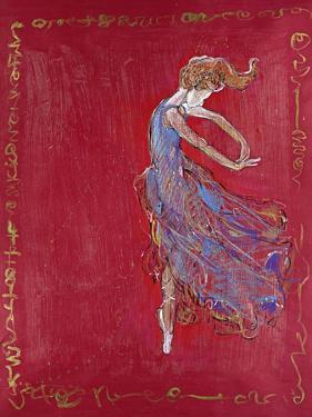 Dancer in Blue IV by Marta Wiley
