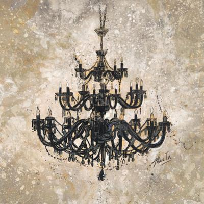 Onyx Chandelier by Marta Wiley