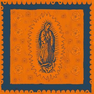 Orange and Blue Mary by Marta Wiley