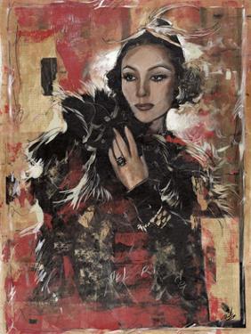 Vintage Goddess I by Marta Wiley