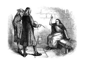Martha Corey and Her Prosecutors, Salem, Massachusetts, C1692