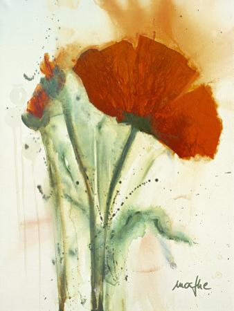 Bunch of Poppies II by Marthe