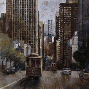Cable Cars in San Francisco by Marti Bofarull