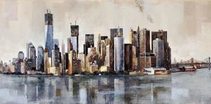 New York From Afar by Marti Bofarull