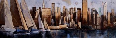 Sailing in Manhattan by Marti Bofarull